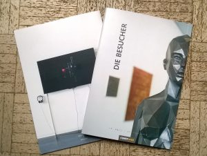 """Katalog Zur Ausstellung """"Die Besucher"""""""