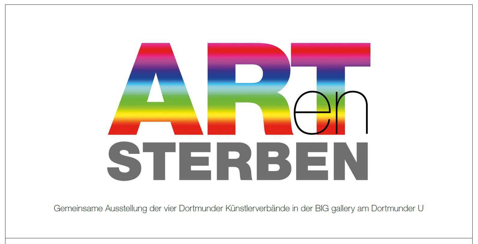 ARTenSTERBEN Ausstellung des bbk in der BIG-gallery, Dortmund; Künstler: u.a. Gisbert Danberg